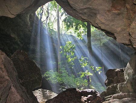 maya cave exploration