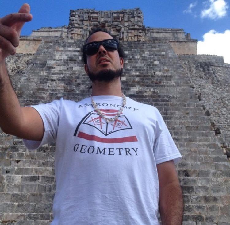 Magicians pyramid Uxmal
