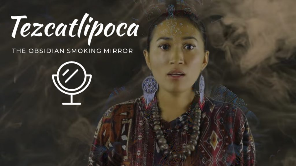 Tezcatlipoca Obsidian smoking mirror