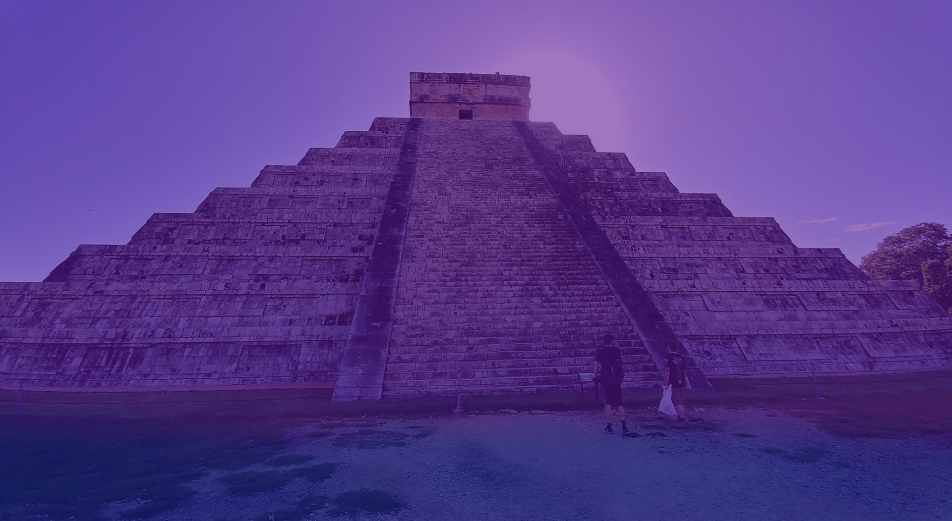 chichen itza purple