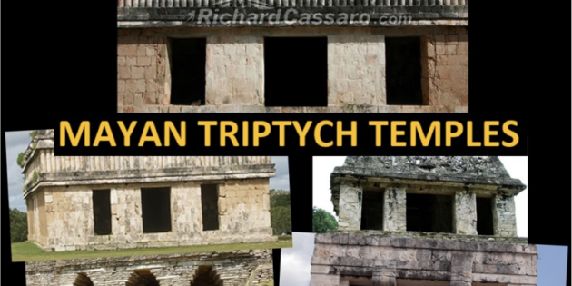 Mayan Triptych Temple