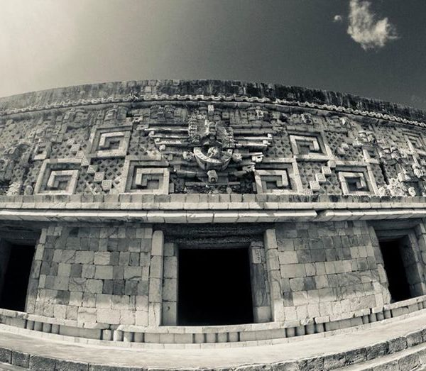 Evidence of the Triptych Enigma @ Uxmal | Photo by Carl Webley