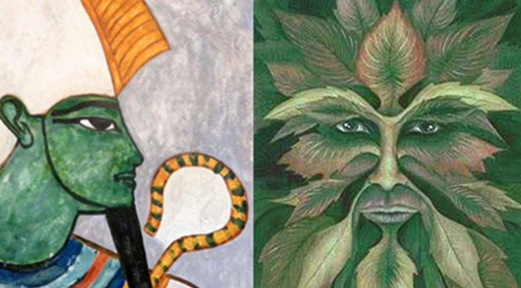 Why is Osiris Green?
