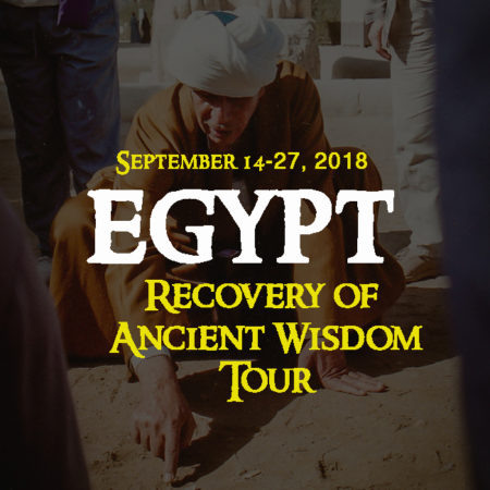 Recovery of Ancient Wisdom Tour 2018