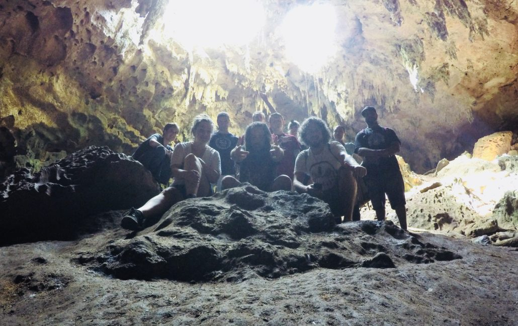 Mysteries of the Maya, 2017 - Adept Initiates' members of the study group @ Lol-Tun Cave | Photo by Carl Webley