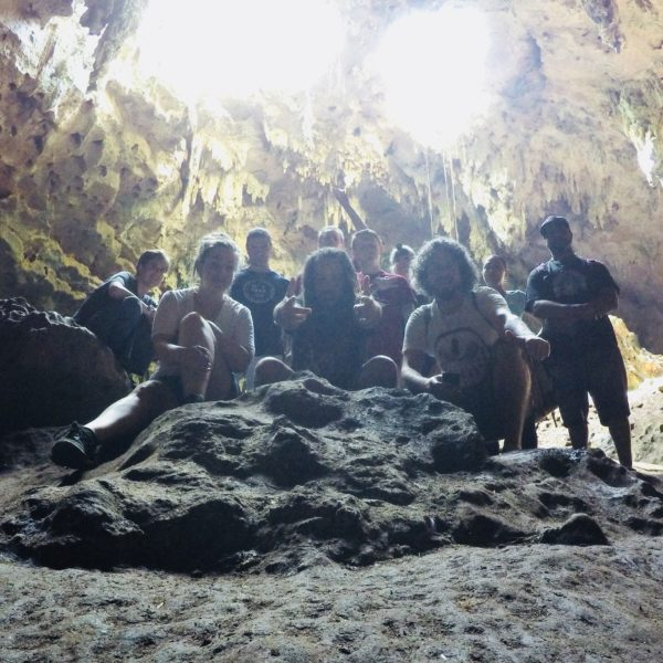 Mysteries of the Maya, 2017 - Adept Initiates' members of the study group @ Lol-Tun Cave   Photo by Carl Webley