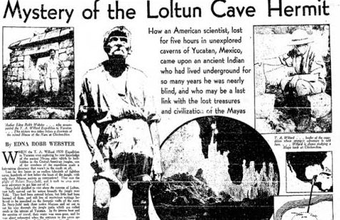 Mystery of the Loltun Cave Hermit