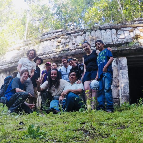 Adept Expeditions - Mysteries of the Maya, 2017 - Xkichmook   Photo by Carl Webley