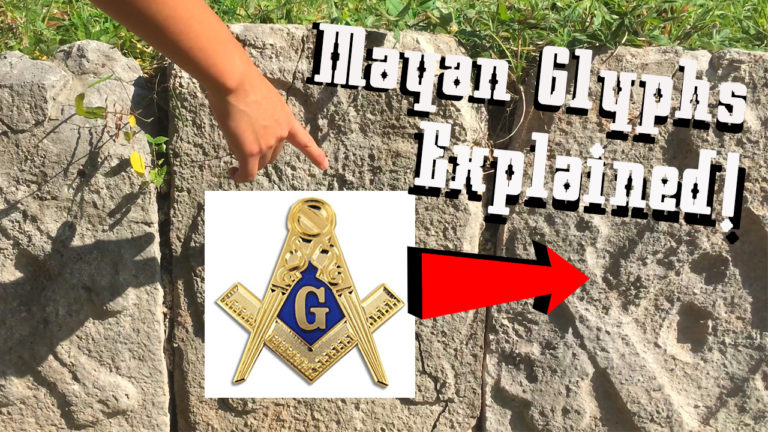ARE THESE MAYAN GLYPHS SYMBOLS OF MASON MASONS