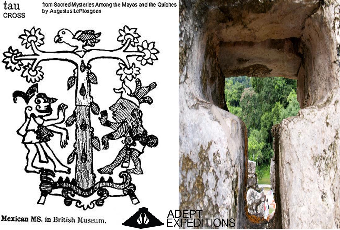 Tau Cross Mayan T
