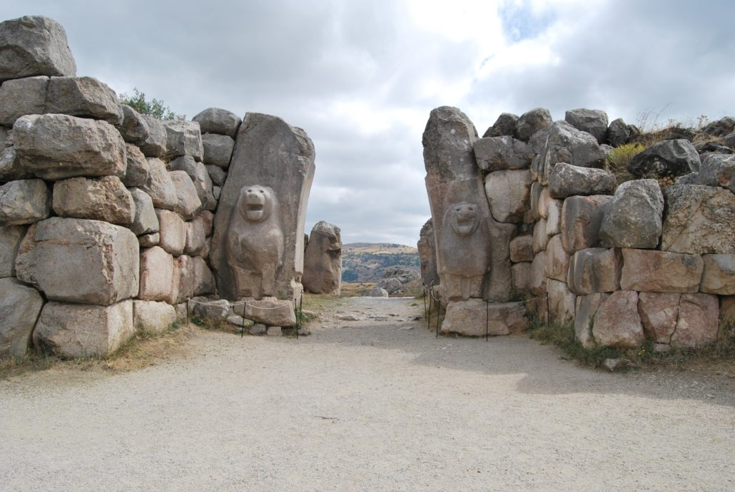 Hattusa Lion Gate Turkey