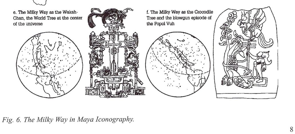 Mayan Mily Way as World Tree and Crocodile