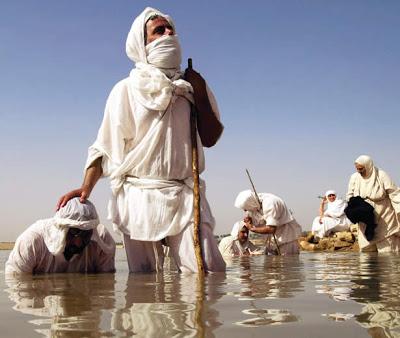 mandean baptism