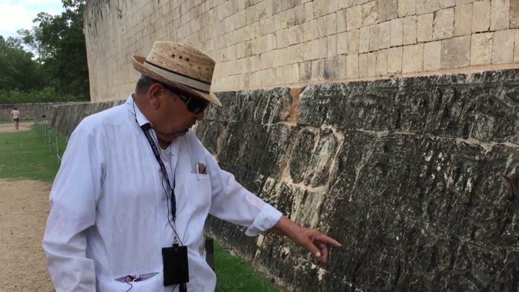 mayan tour guide