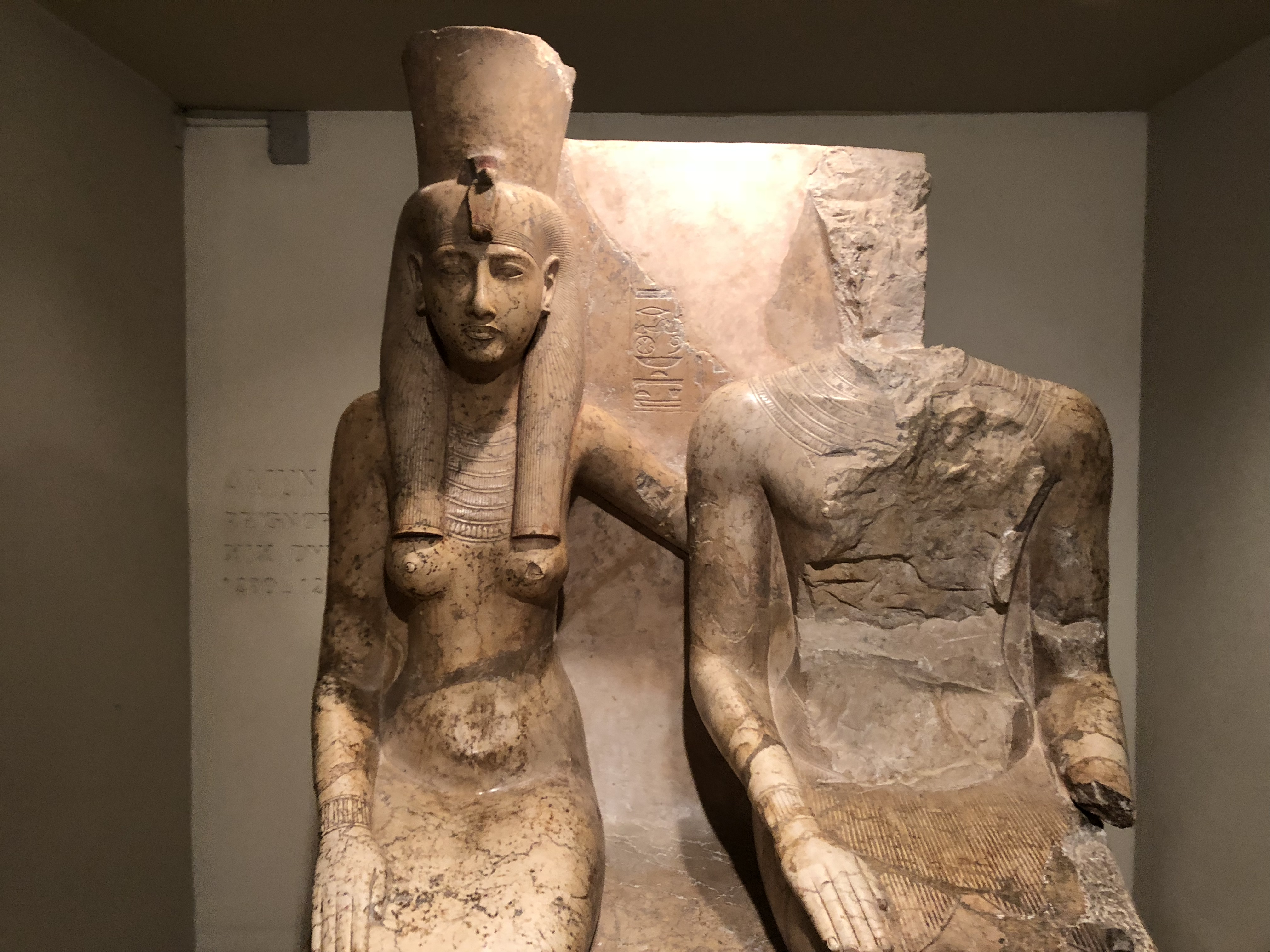 Mut and Amun Luxor
