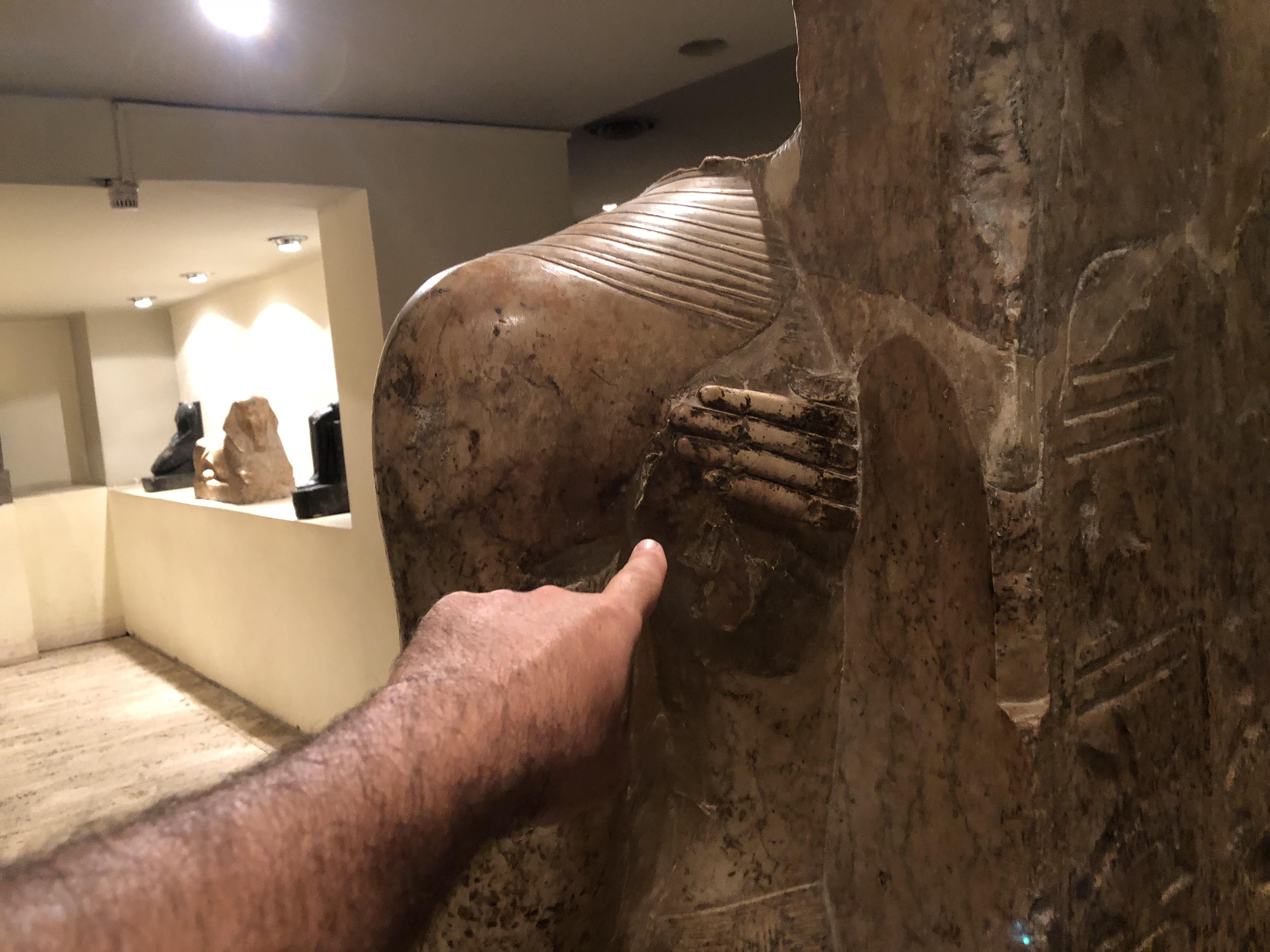 Mut presents Amun