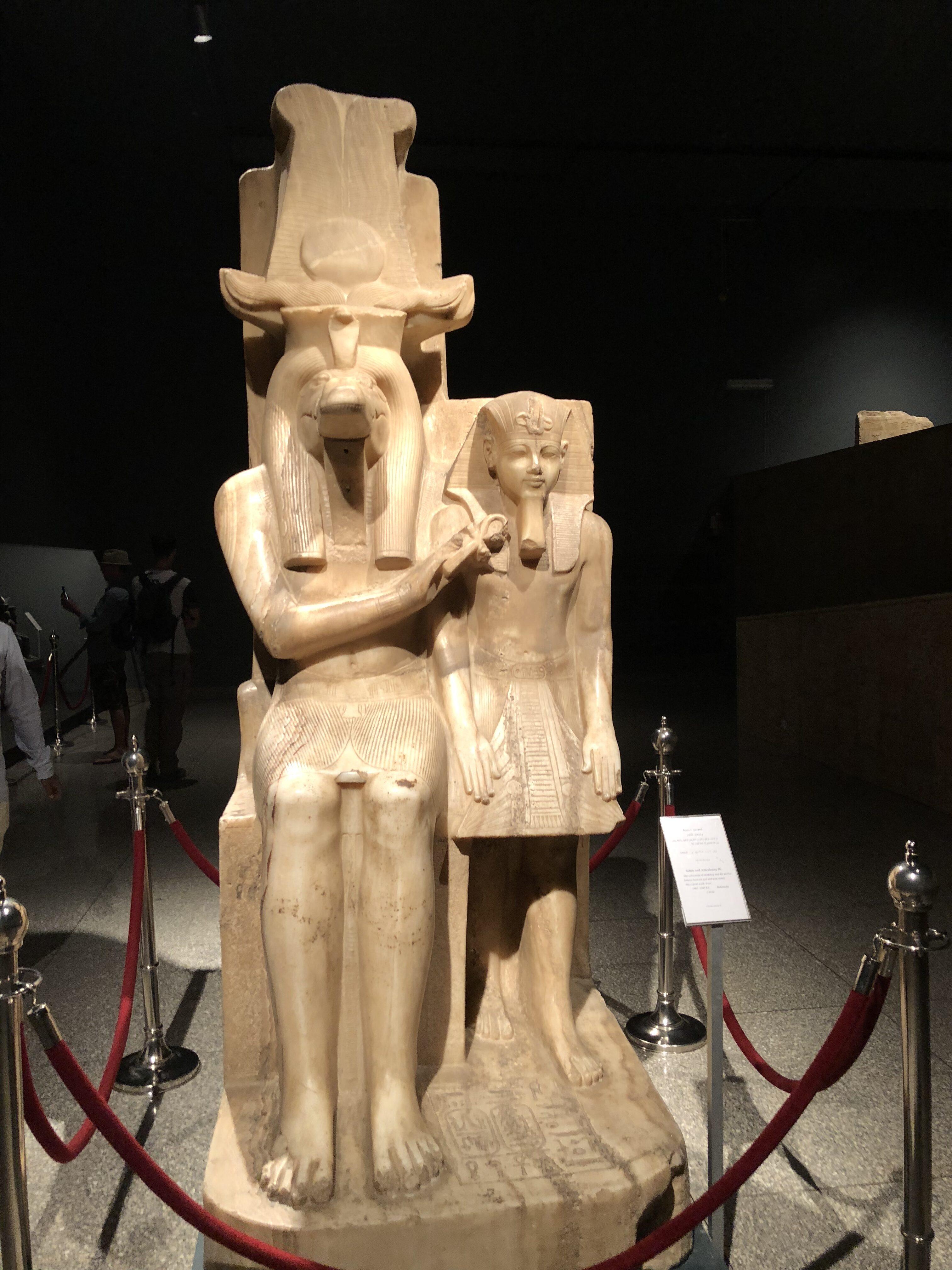 Sobek and Amenhotep III