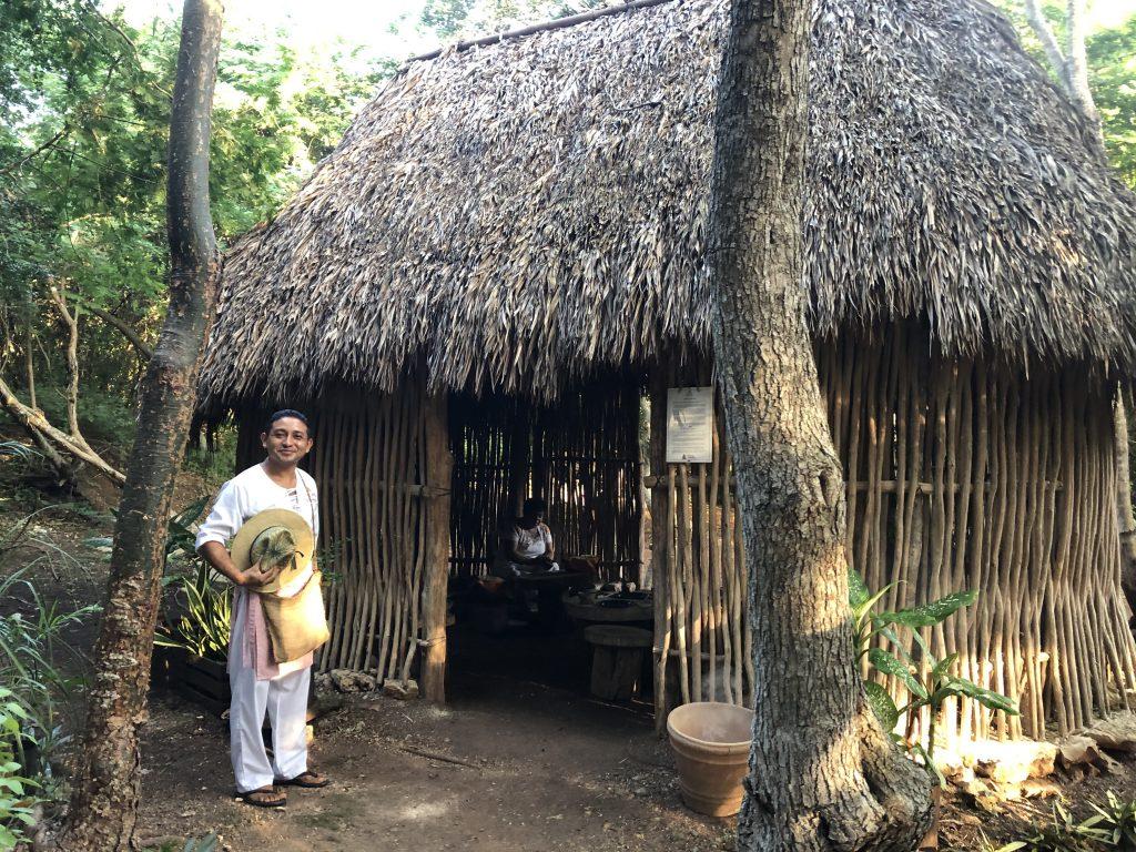 Maya House Uxmal Yucatan