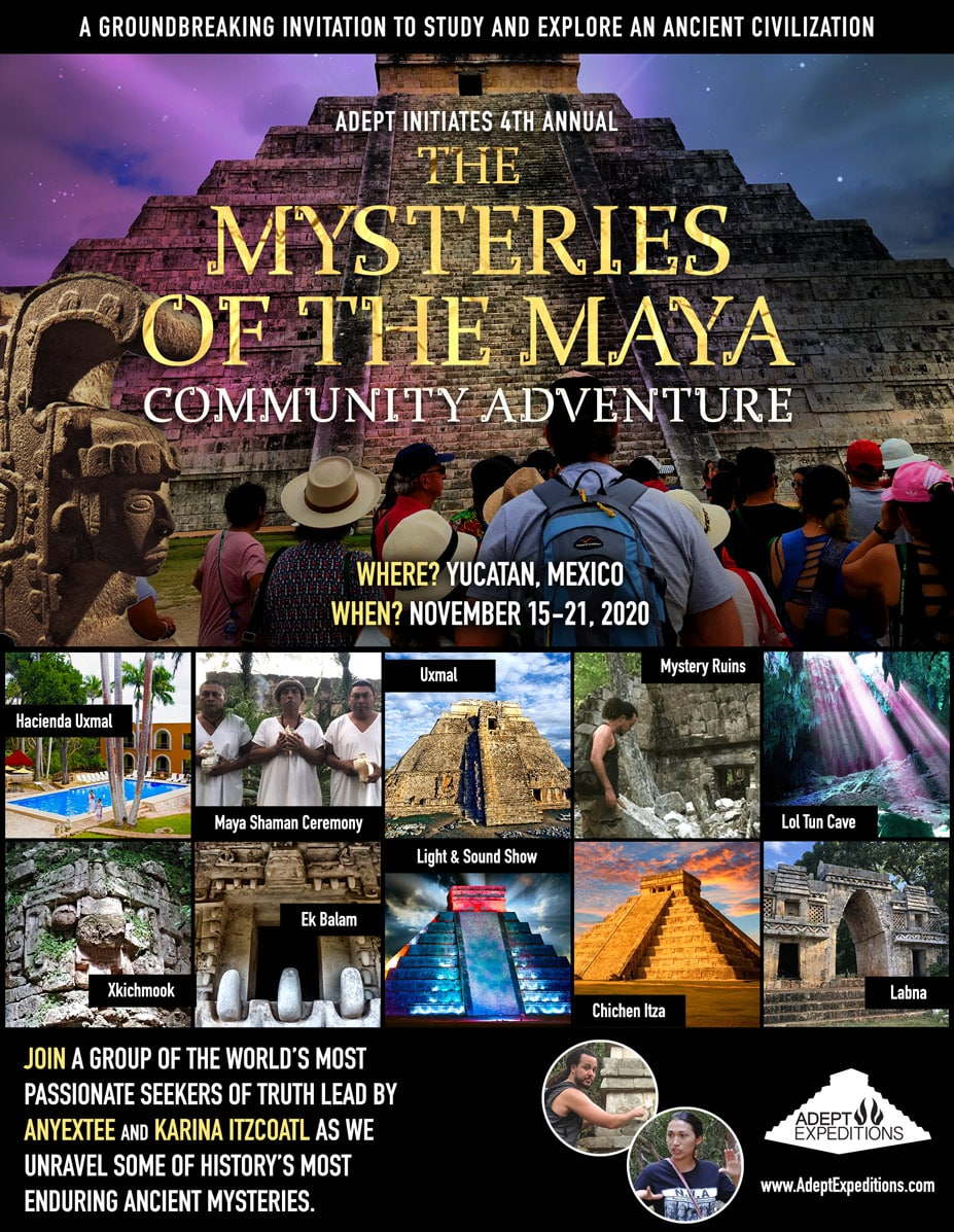Mysteries Maya Tour Yucatan Flyer 2020-min