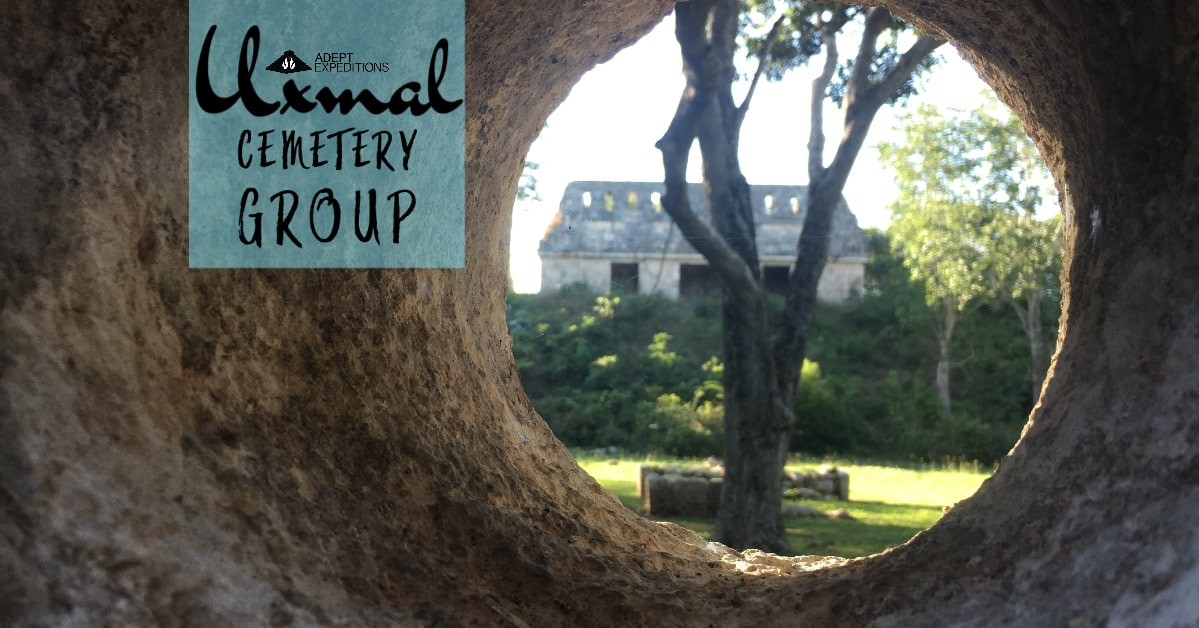 Cemetery Group in Uxmal adept expeditions
