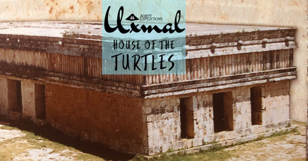 House of the Turtles in Uxmal