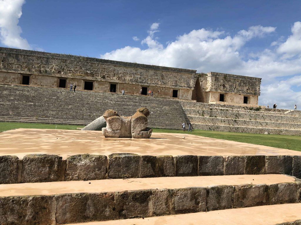 Jaguar Throne Uxmal Governors Palace