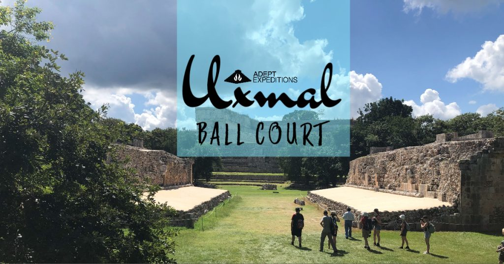 Mayan Ball Court Uxmal