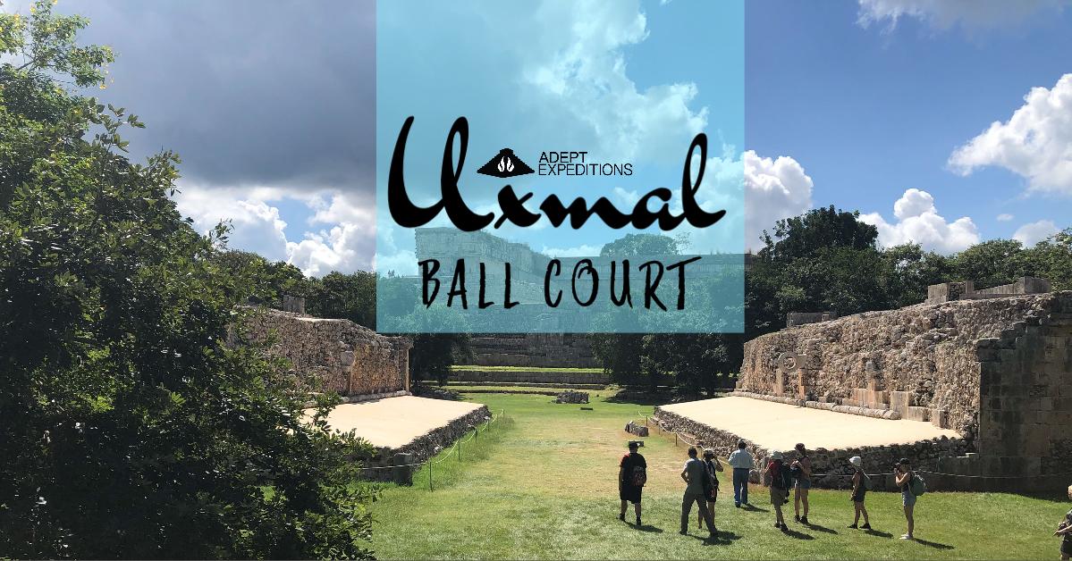 Mayan Ball Court Uxmal