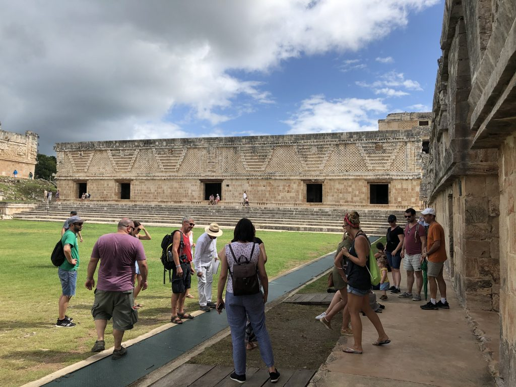 Nunnery Quadrangle in Uxmal West Building