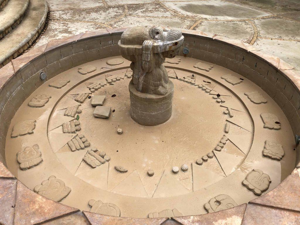 Pauahtun turtle symbology uxmal