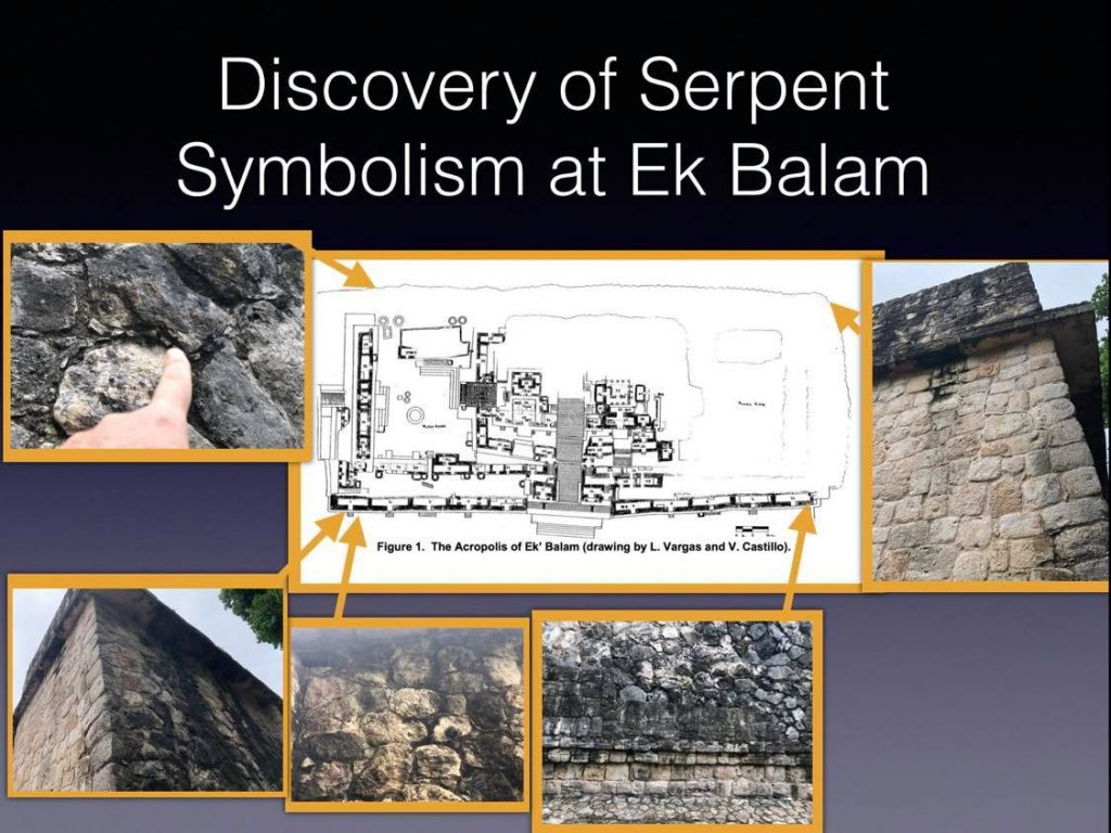 Symbolism in Stone at Ek Balam with Anyextee