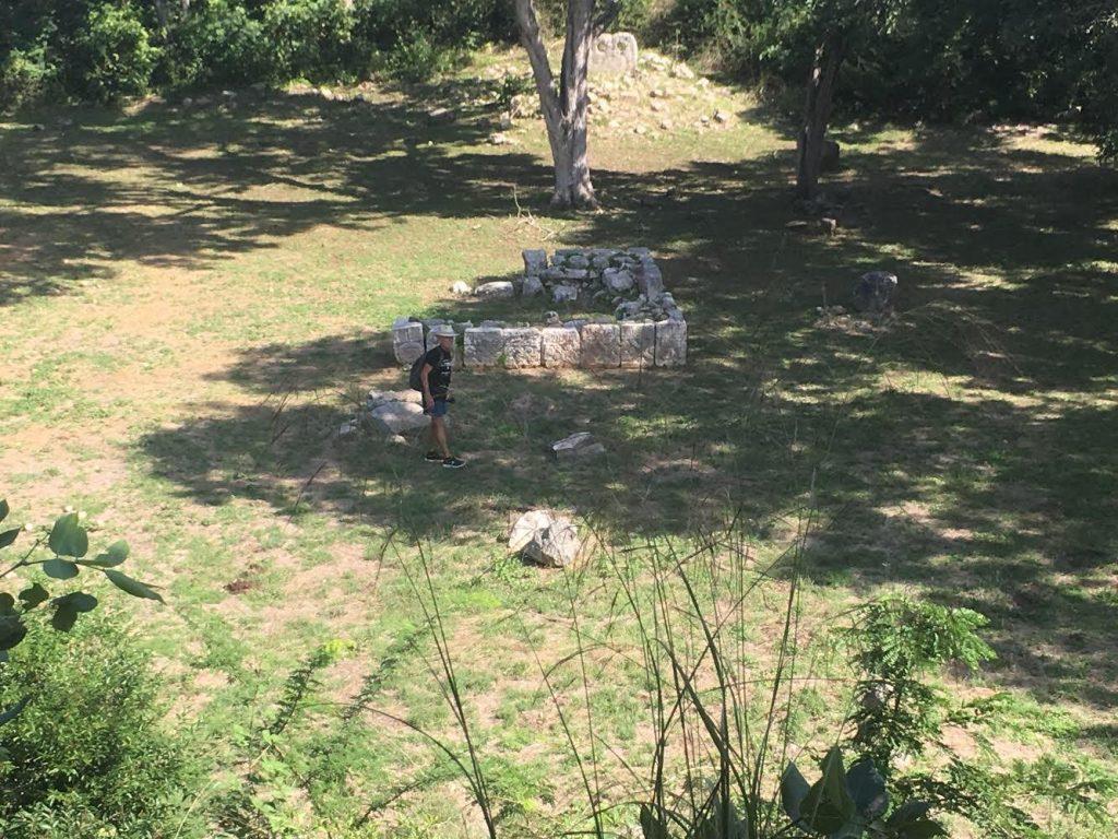 cemetery group uxmal courtyard