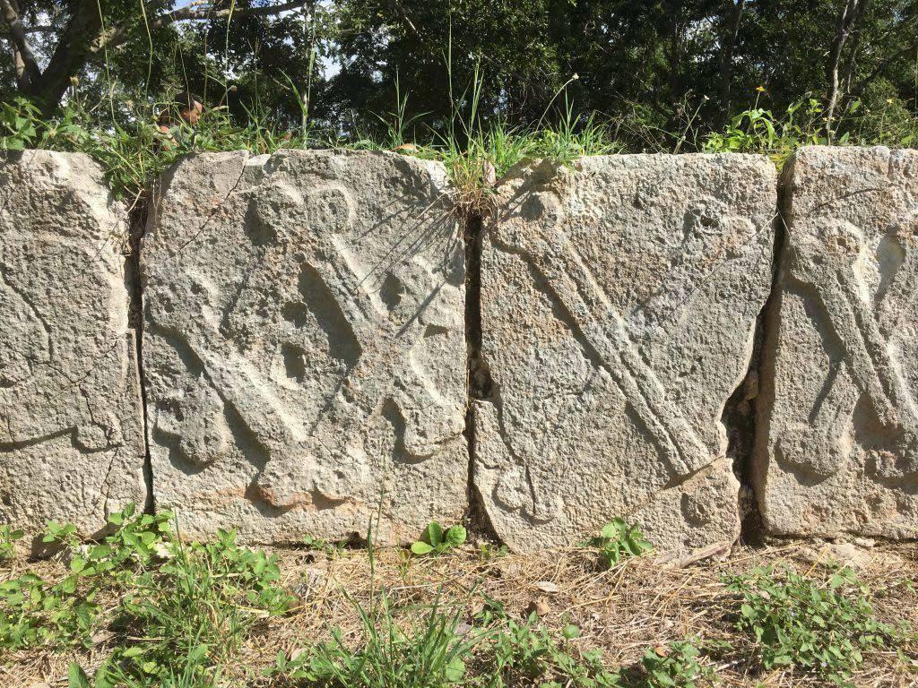 cemetery group uxmal symbolism skull crossbones 1
