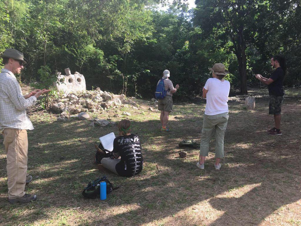 dowsing cemetery group uxmal