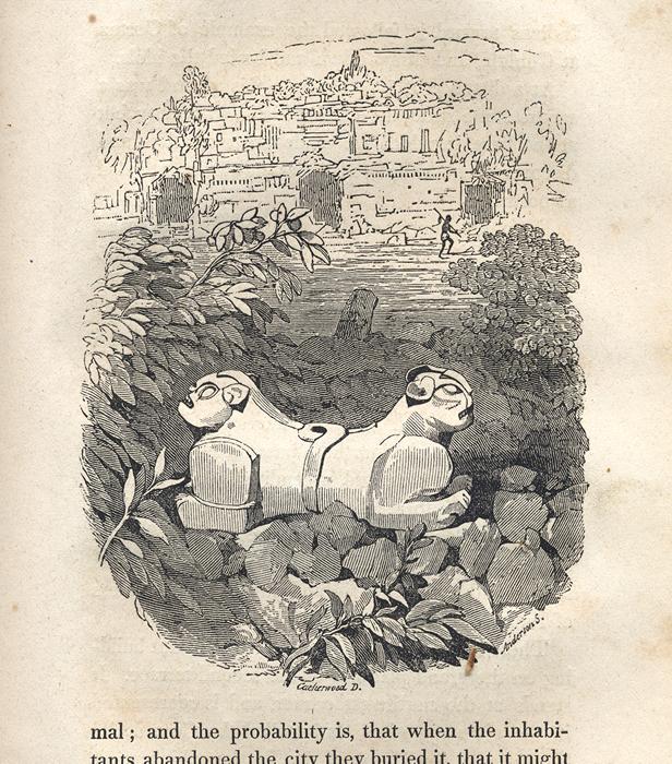 dual headed jaguar uxmal stephens catherwood 1843