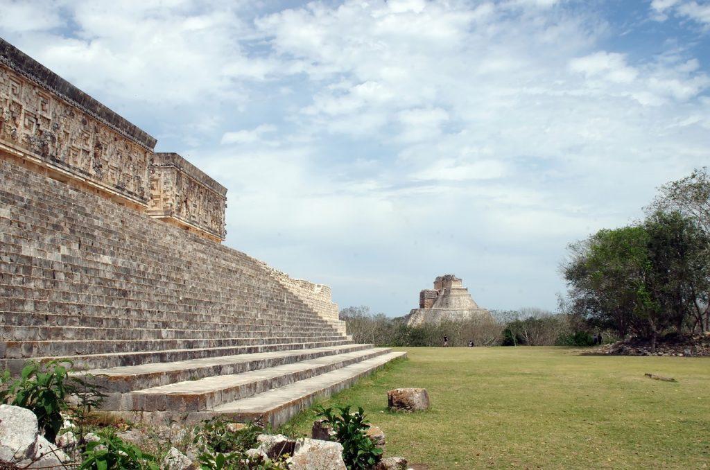 mexico, uxmal, pyramid