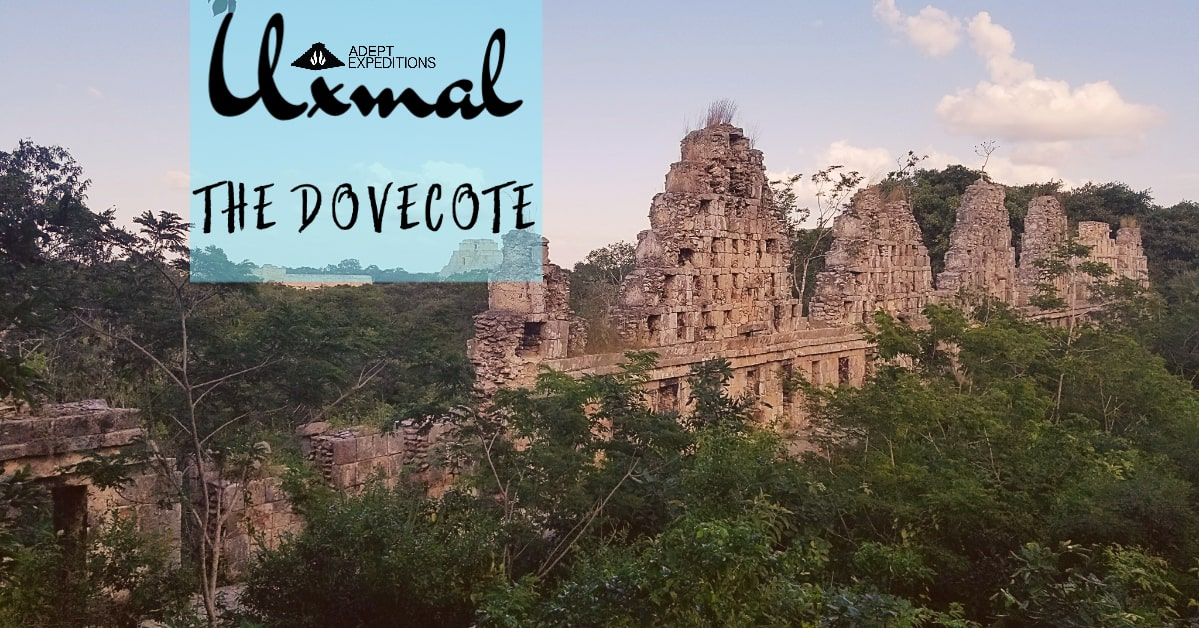 The Dovecote in Uxmal