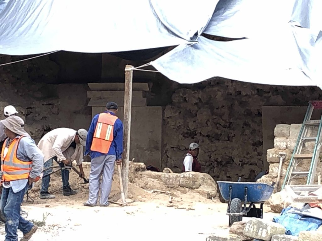 uxmal project excavation new discovery governors palace 2