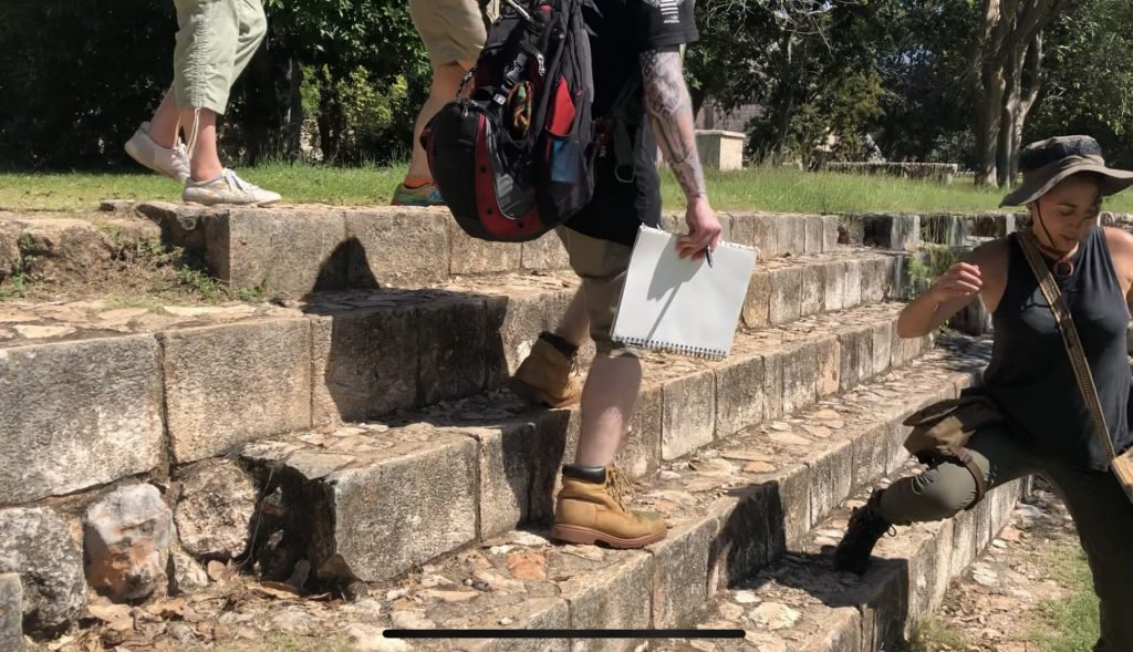 uxmal steps to ball court adept expeditions-min