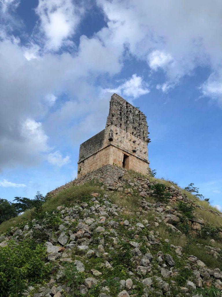 Labna ruins El Mirador Tower Yucatan Mexico