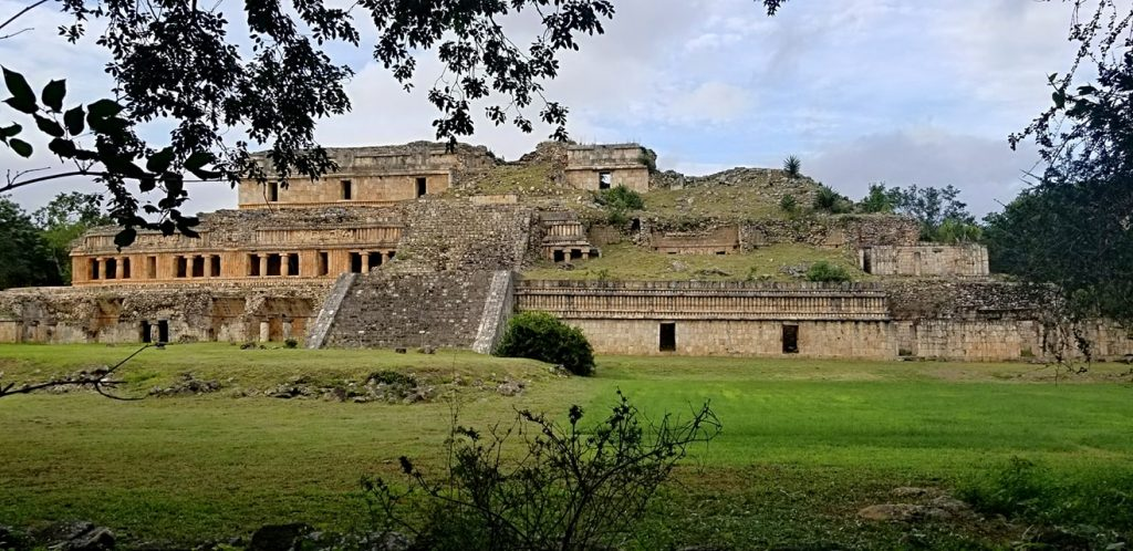 Sayil Great Palace - North Palace yucatan adept expedition