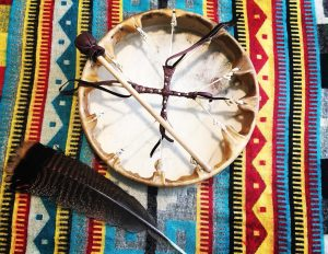 shaman drum aztec